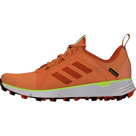 adidas TERREX Speed Gore-Tex Trail Running Shoes Women, amber tint/glory amber/signal green